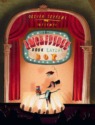 Books2All blog -books still matter the Incredible Book Eating Boy by Oliver Jeffers