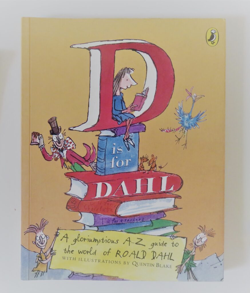 Books2All blog childhood books - D is for Dahl by Wendy Cooling