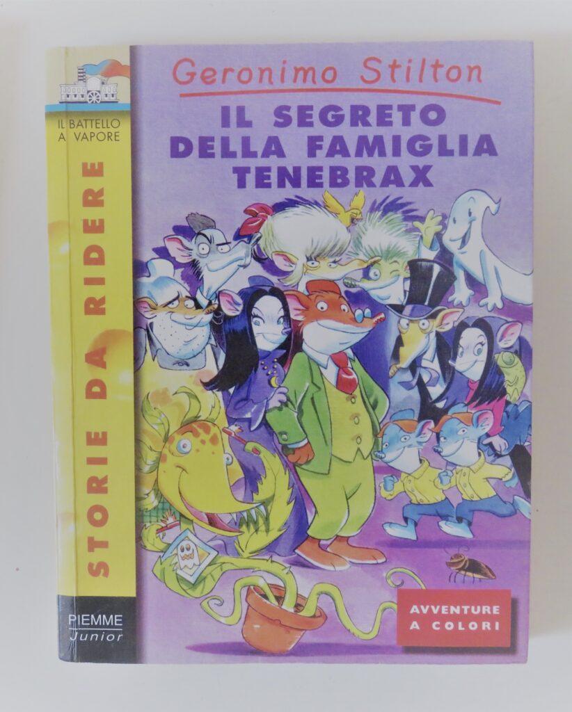 Books2All blog childhood books - Geronimo Stilton: Il Segreto della Famiglia Tenebrax by Elisabetta Dami