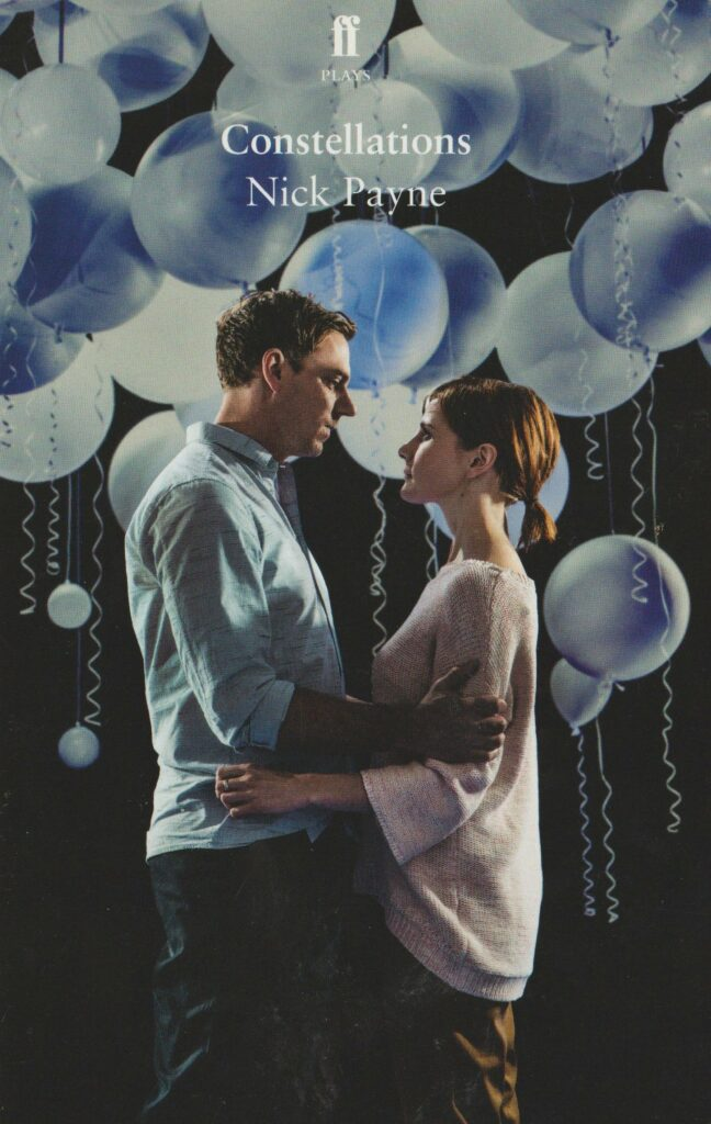 Books2All Valentine's Day blog -  Constellations by Nick Payne