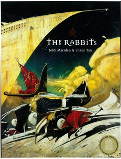 Books2All blog: The history of children's literature in 6 memorable books - The Rabbits by Shaun Tan