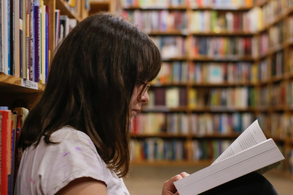 Books2All blog: Can reading improve mental health? by Seoana Sherry-Brennan